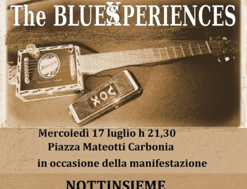 The Blues Experiences, serata a Carbonia, 17 Luglio