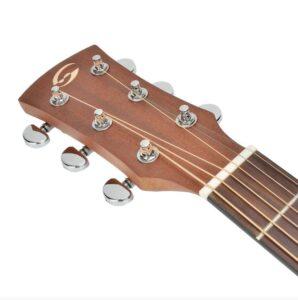 Dettaglio paletta Soundsation Mezzaluna chitarra acustica